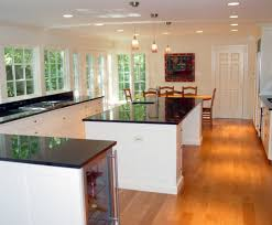 cantilever addition kitchen traditional with black granite
