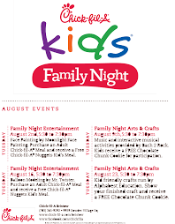 there u0027s tons of events for children and families at fil a