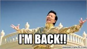Im Back Meme - m back