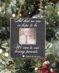 christmas ornament for parents wedding newlyweds u0027all that