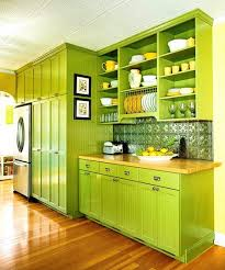 green color kitchen design www nicespace me