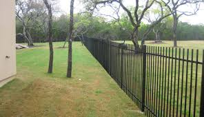 ornamental iron fence tx metal steel fencing