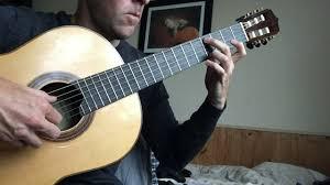 ornaments on classical guitar 1 appoggiaturas