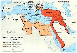 map of ottoman empire if the ottoman empire was comprised of many different countries