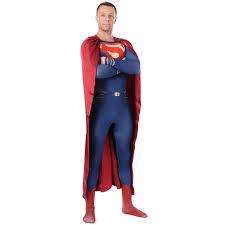 Halloween Men Costume Superman Costume Man Steel Costume Halloween Costumes