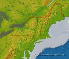northeast map of us us physical map test your geography knowledge usa geophysical