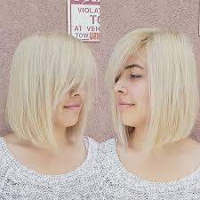 how to cut hair straight across in back 50 classy short bob haircuts and hairstyles with bangs