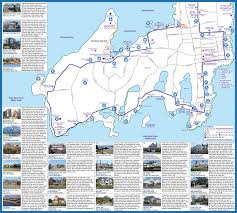 Walking Map Of Boston by Newport Ri Map And Guide Ocean Drive Bellevue Avenue Mansions