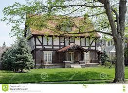 English Tudor Home English Tudor House In Spring Stock Photo Image 70513399