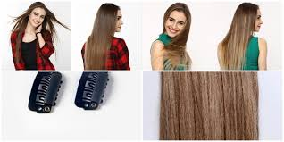 clip on hair how to wear clip on hair extensions a step by step guide