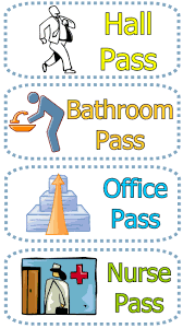 bathroom pass ideas bathroom passes daily tips