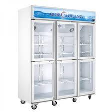 ge glass door refrigerator kitchen the brilliant dual compressor refrigerator regarding