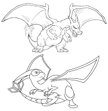 pokemon coloring pages charizard battle 539 pokemon coloring
