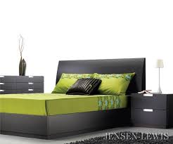 Mobican Maya Bed  JensenLewis New York Furniture - Bedroom furniture nyc