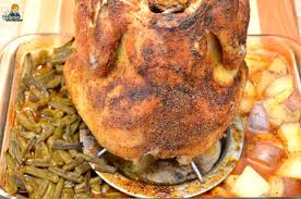 to make cajun roasted whole chicken