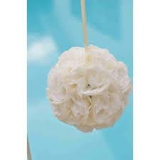 fleur artificielle mariage boule de fleur ivoire mariage pas cher