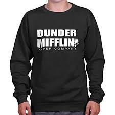 sweater brands amazon com brisco brands dunder mifflin paper company shirt