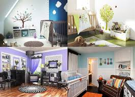 Baby Room Decor Ideas Nursery Decorating Ideas 5 Unique Looks For The New Baby Room