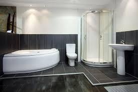 black bathroom floor tiles carpet flooring ideas
