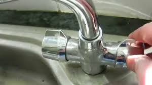how to stop a faucet in kitchen how to stop a monobloc tap outlet leaking emergency repair