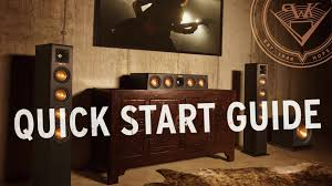 klipsch home theater klipsch reference premiere hd wireless quick start guide youtube