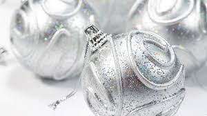 beautiful silver balls for decoration on 2013