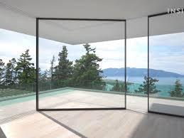 retractable glass doors fleshroxon decoration