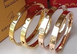 cartier bracelet love bangles images Made from surgical steel with a bright finish you can customize jpg