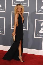 rihanna in black and gold dress u2013 dress blog edin