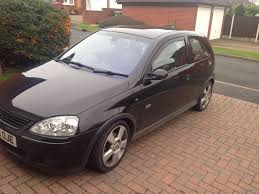 vauxhall corsa c sri 1 8 2005 black 20r in wolverhampton west