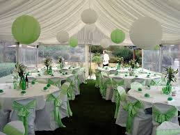white lanterns for wedding centerpieces decorated dinner tables sage green wedding green and white