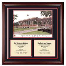 clemson diploma frame california state northridge cal state northridge csun