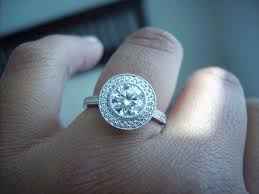 halo engagement ring settings halo engagement rings pricescope