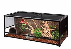 amazon com oiibo knock down glass reptile terrarium 47x24x24
