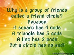 why is a of friends called friendship sms quotes image