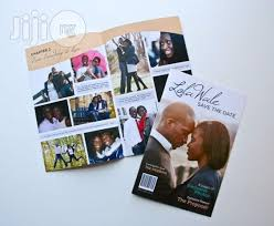 magazine wedding programs wedding program as magazine in lagos mainland party catering