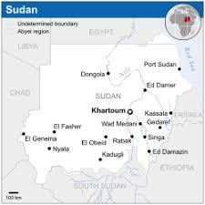map n sudan