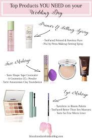 wedding day makeup products the top makeup products you need for your wedding day wedding