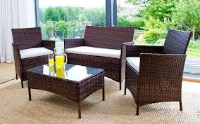 Homebase Patio Rattan Effect Garden Furniture Homebase Design Idea Home