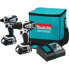 makita 18 volt compact lithium ion cordless drill and impact
