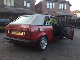 used 1990 volkswagen golf gti mk1 mk2 cabrio gti for sale in kent
