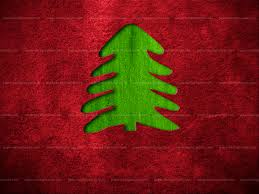 paper backgrounds red christmas background with fir tree