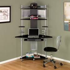 Computer Corner Desk by Black Corner Desk Buy Arch Corner Computer Workstation Silver