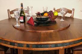 dining table w lazy susan round marble with uk and wine rack black