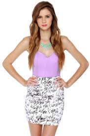cute lavender top strapless top bustier top 31 00