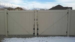 decorative vinyl fence panels home u0026 gardens geek