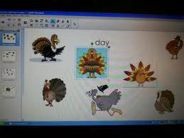 november thanksgiving smartboard sight word center by enea