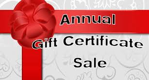 gift card sale gift certificate sale 2016 back to bliss