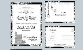 tri fold wedding invitations template tri fold wedding invitation template 13 psd formats