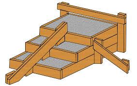 treppen einschalen gartentreppe selbst bauen und anlegen bauredakteur de